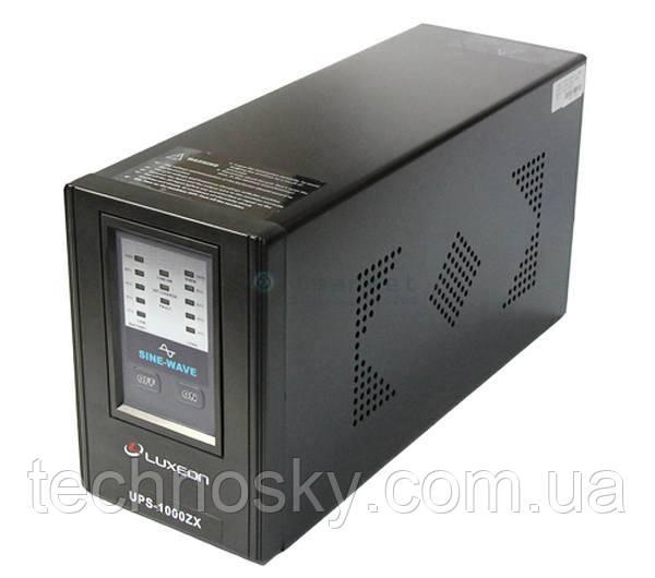 Бесперебойный блок питания (UPS ИБП) Luxeon UPS-1000ZX 1000ВА 600Вт 12В