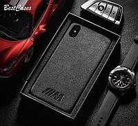 РОСКОШНЫЙ! Чехол - накладка BMW M для iPhone 11 / 11 Pro / 11 Pro Max