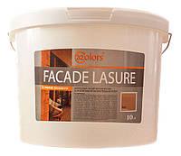 Бытовая краска-лазурь для дерева Façade Lasurе 32Color (колеруется в цвета) 10 л