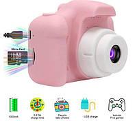 Детский цифровой фотоаппарат Kids Camera GM14 с записью видео и играми., фото 1