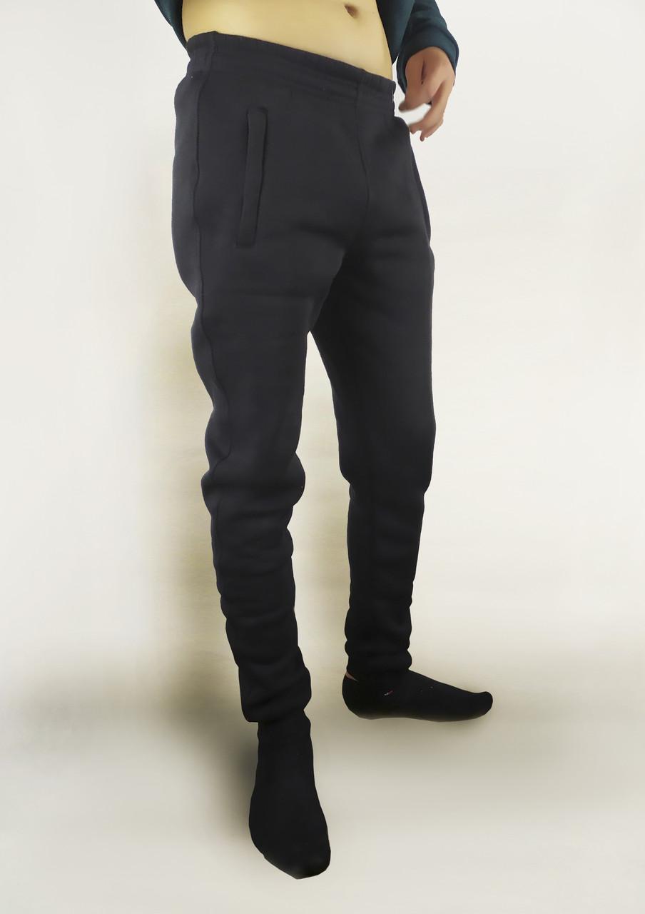 Спортивные мужские штаны двунитка Джогеры с манжетами S, M, L, XL, XXL