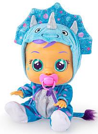 Інтерактивна лялька Плакса Динозаврик Тіна Плаче немовля Cry Babies Tina Doll