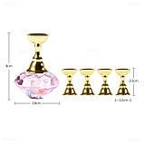 Подставка-держатель для типс с кристаллом, цвет  розовый, фото 2