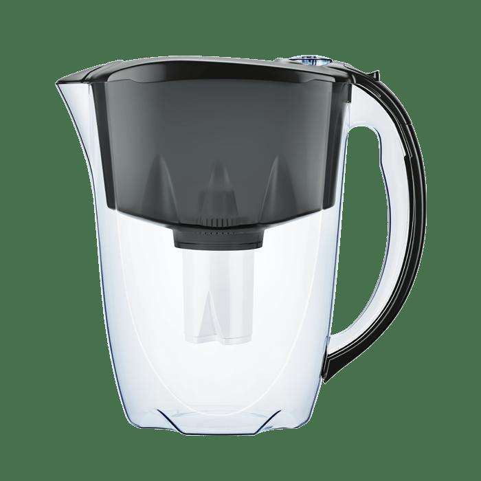 Фільтр-глечик Аквафор Ідеал (чорний) 2,8 л для очищення водопровідної води