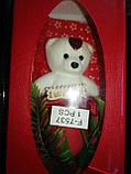 """Мыло сувенирное """"Мишка с розой"""" в упаковке, фото 5"""