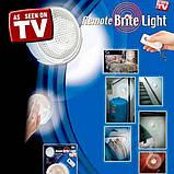 Светильник (лампа) с пультом, ночник Remote Brite Light., фото 2