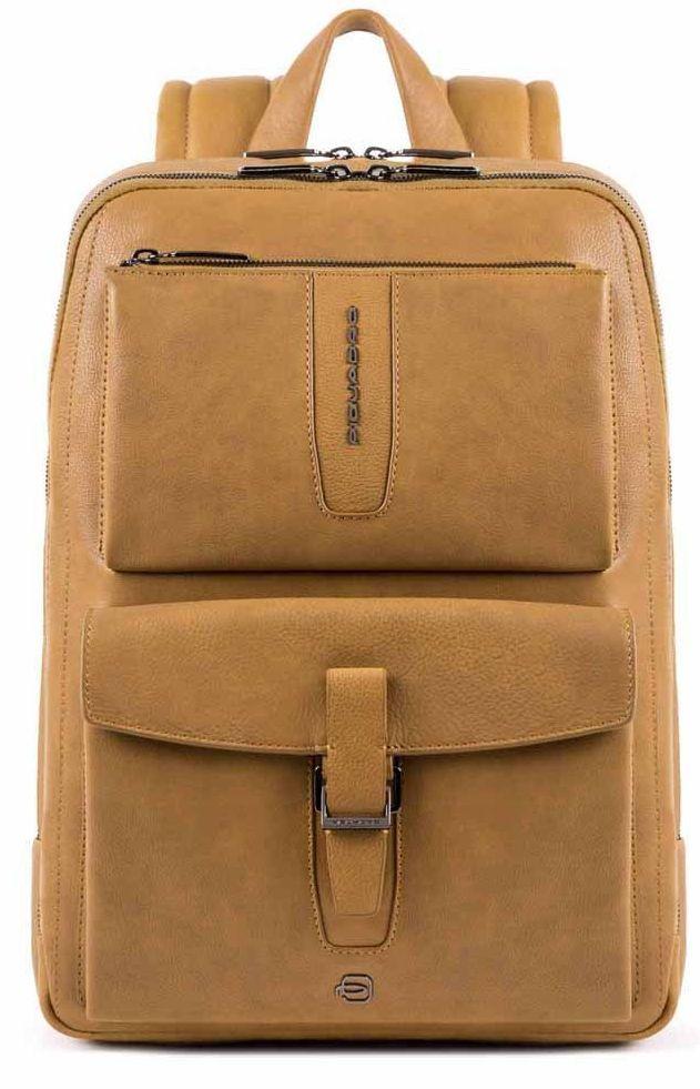 Рюкзак для ноутбука 14 дюймов Piquadro Ares,  желтый