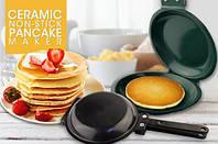"""Двухсторонняя сковорода для приготовления блинов панкейков """"Ceramic Non-Stick Pancake Maker""""., фото 1"""
