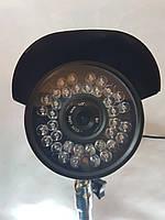 Аналоговая IR CCD камера для наружного видеонаблюдения ночная YS-632CCD 8MM, фото 1