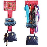 Подвесной органайзер для хранения сумок Bags jewelry scarves Admission Fishing Bag., фото 1