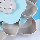 Тарелка для закусок | фруктовница | тарелка для сладкого | вращающаяся тарелка-органайзер, фото 4