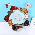 Тарелка для закусок | фруктовница | тарелка для сладкого | вращающаяся тарелка-органайзер, фото 5