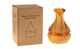 Увлажнитель воздуха аромадиффузор с LED подсветкой ароматизатор Humidifier Atomization Lidht Wood, фото 4