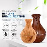 Увлажнитель воздуха аромадиффузор с LED подсветкой ароматизатор Humidifier Atomization Lidht Wood, фото 5