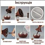 Увлажнитель воздуха аромадиффузор с LED подсветкой ароматизатор Humidifier Atomization Lidht Wood, фото 8