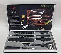 Набор кухонных ножей 6 предметов MHZ non-stick king-0002, фото 1