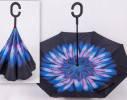 Ветрозащитный зонт обратного сложения UP-brella, фото 4