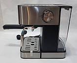 Кофемашина полуавтоматическая DSP Espresso Coffee Maker KA3028 с капучинатором 1,6л 850Bт, фото 6
