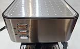 Кофемашина полуавтоматическая DSP Espresso Coffee Maker KA3028 с капучинатором 1,6л 850Bт, фото 9