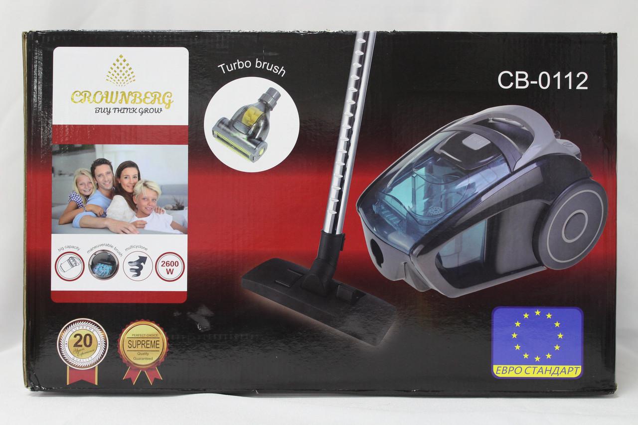 Пылесос Crownberg Vacuum Cleaner CB 0112 (2600 Вт.).