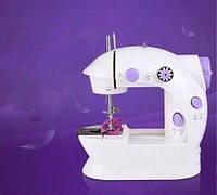 Швейная машинка портативная Mini Sewing Machine SM-202A с адаптером., фото 1