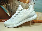 Женские кроссовки BaaS Runners белые 39 р., фото 2