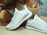 Женские кроссовки BaaS Runners белые 39 р., фото 4