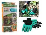 Садовые перчатки с когтями Garden Genie Gloves., фото 3
