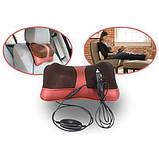 Массажная подушка для дома и машины Massage Pillow., фото 3