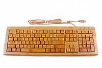 Клавиатура бамбуковая русифицированная