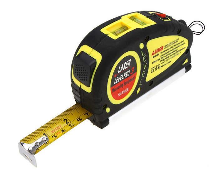 Лазерный уровень LevelPro3 Laser LV-05 с рулеткой 5,5 м.