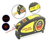Лазерный уровень LevelPro3 Laser LV-05 с рулеткой 5,5 м., фото 2