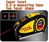 Лазерный уровень LevelPro3 Laser LV-05 с рулеткой 5,5 м., фото 3