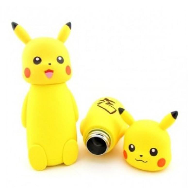Термос вакуумный детский маленький Pokemon 230 мл h-193