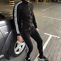 Мужской брендовый спортивный костюм Dolce & Gabbana DGLove Black