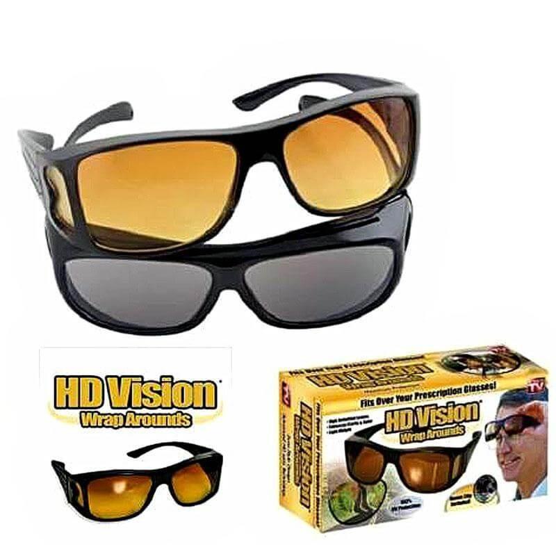 Очки анти-бликовые для водителей HD Vision 2 шт (в ящике 200 шт).