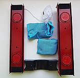 Щетка магнитная для мытья окон с двух сторон Glider для окон толщиной 2-8 мм., фото 6