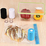 Вакуумный упаковщик для еды Vacuum Sealer Always Fresh (в ящике 100 шт.), фото 5