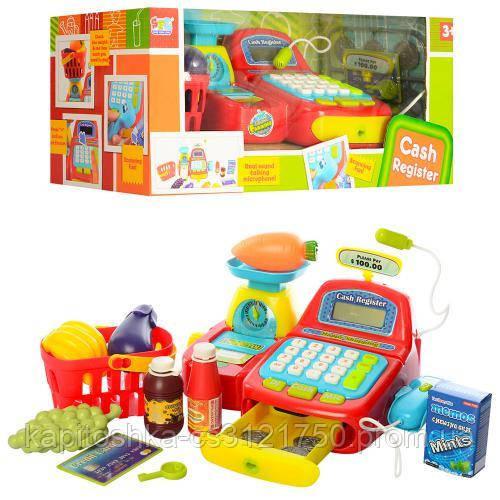 Детский кассовый аппарат Cash 16656К