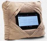 Дорожная подушка Go Go Pillow 3 в 1, подставка и чехол для планшета., фото 2