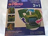 Дорожная подушка Go Go Pillow 3 в 1, подставка и чехол для планшета., фото 4