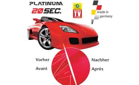 Паста для удаления царапин автомобиля Platinum 20 sec.