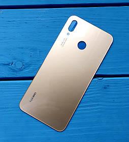 Задняя крышка для Huawei P20 Lite золотистый