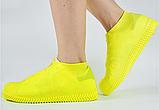 Силиконовые водонепроницаемые чехлы на обувь (разм. S), фото 5