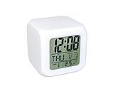 Светодиодные часы с будильником и термометром Хамелеон  ., фото 3