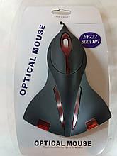 Мышь компьютерная проводная в виде самолета купить в Украине для компьютера, ноутбука, PC, FF-22