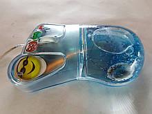 3D оптическая жидкая мышь поплавок, Аква-мышь нога жидкая мышь USB с плавающим аква эффектами Aqua Mouse.