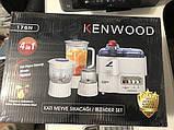 Многофункциональная кухонный комбайн Kenwood 176N 4в1, соковыжималка, блендер., фото 2