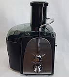 Соковыжималка HAEGER HG-2811 электрическая для твердых овощей и фруктов 1200W, фото 5