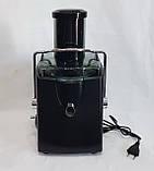 Соковыжималка HAEGER HG-2811 электрическая для твердых овощей и фруктов 1200W, фото 6